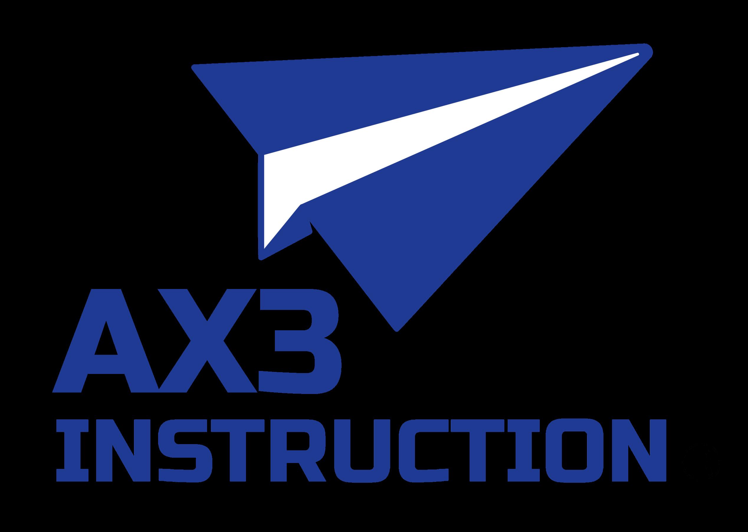AX3 INSTRUCTION
